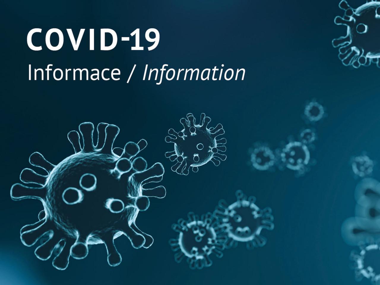 Opatření a doporučení v souvislosti s šířením nového koronaviru: Univerzita  Palackého v Olomouci